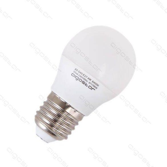 LED izzó G45 E14 6W 270° hideg fehér
