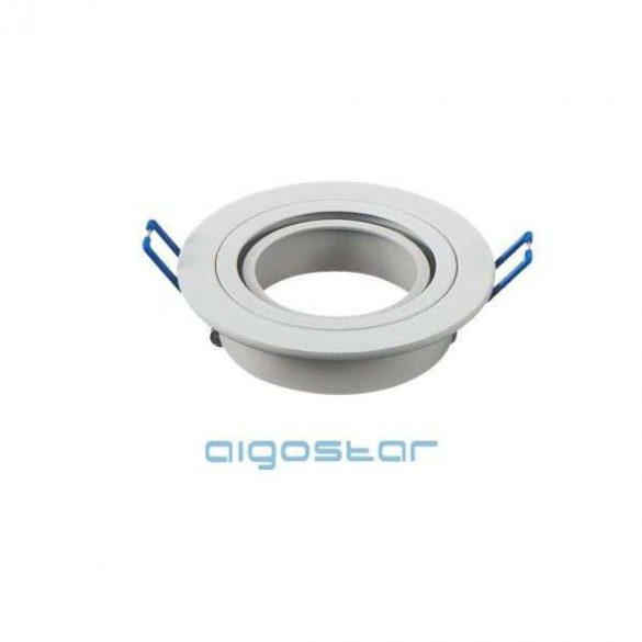 Aigostar LED spot lámpa beépítő keret kerek M1030R-01 fehér GU10 és MR16-os LED izzókhoz
