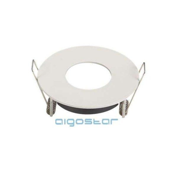 Aigostar LED spot lámpa beépítő keret kerek TS78 fehér GU10 és MR16-os LED izzókhoz