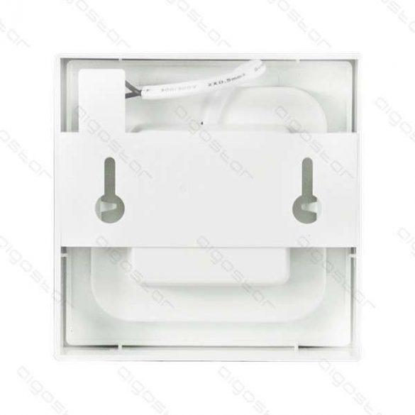 AIGOSTAR LEDES lámpa E6 szögletes 6W Természetes fehér
