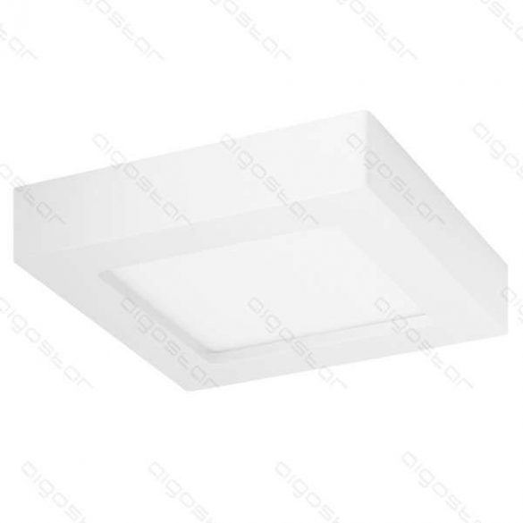 AIGOSTAR LEDES lámpa E6 szögletes 9W Természetes fehér