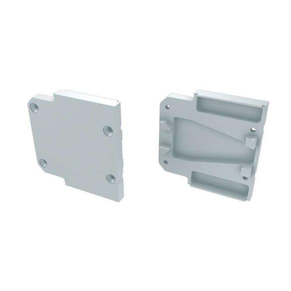 Alumínium Végzáró DOPIO típusú led profilokhoz Fehér