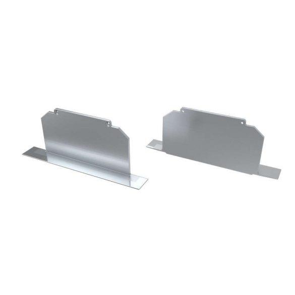 Alumínium Végzáró M3 LARGO típusú led profilokhoz Full Ezüst