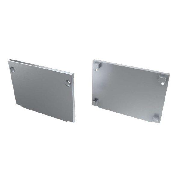Alumínium Végzáró M3 TALIA típusú led profilokhoz Basic Ezüst