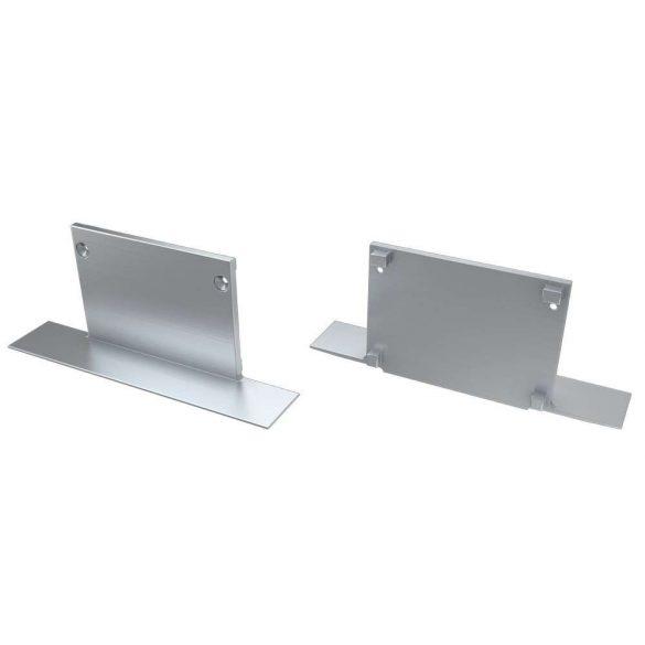 Alumínium Végzáró M3 TALIA típusú led profilokhoz Full Ezüst