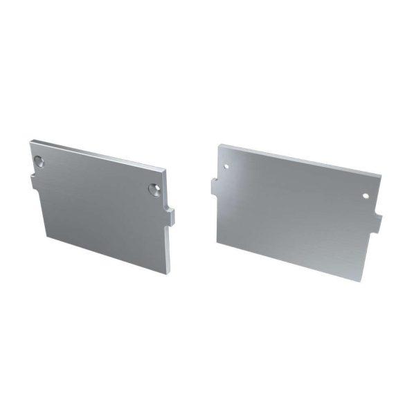 Alumínium Végzáró M4 TALIA típusú led profilokhoz Basic Ezüst