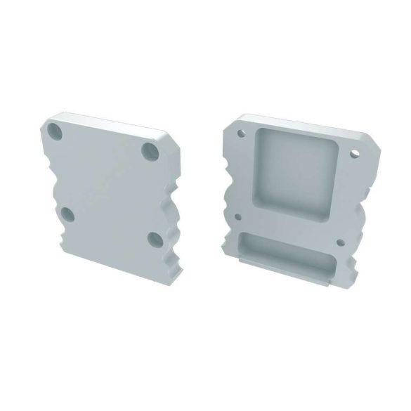 Alumínium Végzáró  M1+TALIA típusú led profilokhoz Fehér