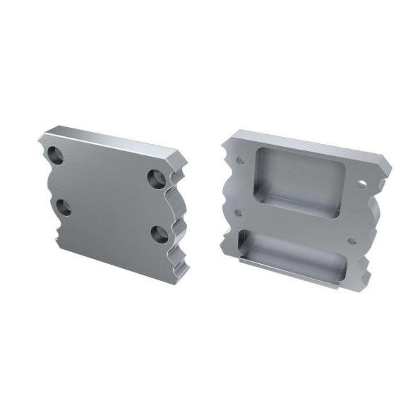 Alumínium Végzáró TALIA típusú led profilokhoz Ezüst