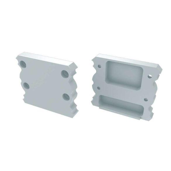 Alumínium Végzáró TALIA típusú led profilokhoz Fehér