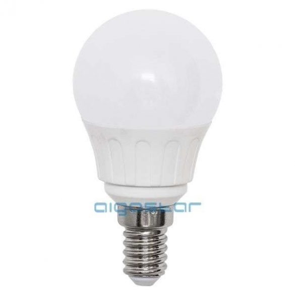 Aigostar LED Gömb izzó G45 E14 5W 280° Hideg fehér