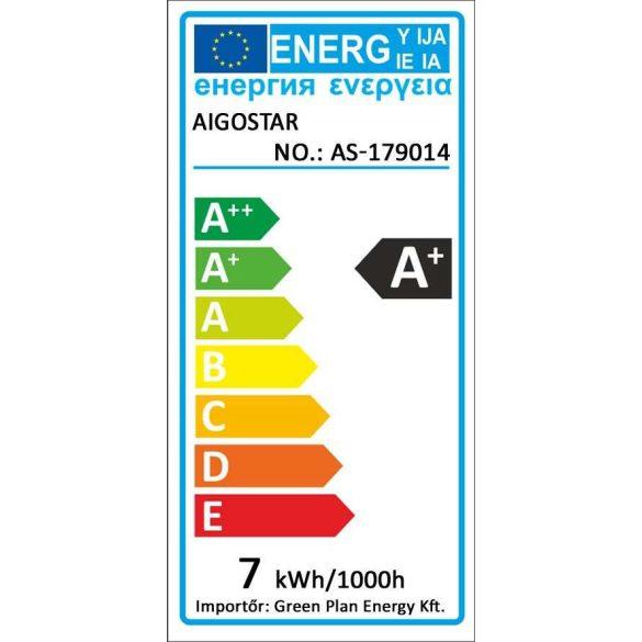 Aigostar LED izzó C37 E14 7W 270° Hideg fehér