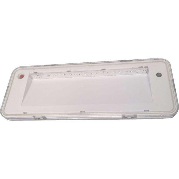 Ledes vészvilágító lámpa 180min 3W 80lm
