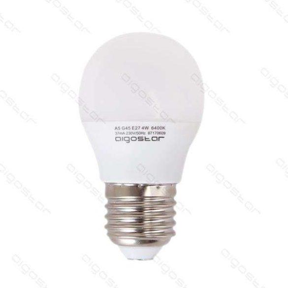 Aigostar LED Gömb izzó G45 E27 6W Természetes fehér