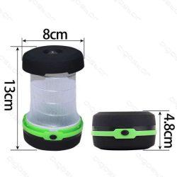 Aigostar kemping lámpa 1,4W Zöld színű összecsukható
