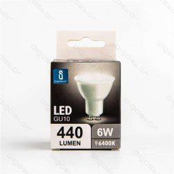 Aigostar LED Spot izzó GU10 6W Hideg fehér dobozos