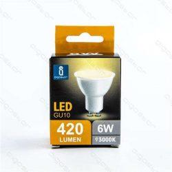 Aigostar LED Spot izzó GU10 6W Meleg fehér dobozos