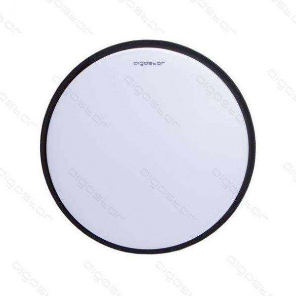 Aigostar LEDES lámpa kerek 12W Meleg fehér Fekete keskeny kerettel