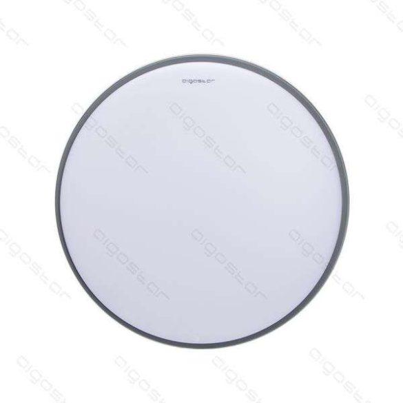 Aigostar LEDES lámpa kerek 20W Meleg fehér Ezüst keskeny kerettel