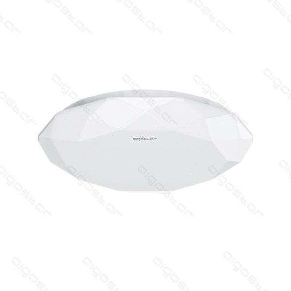 Aigostar LEDES lámpa kerek 24W Hideg fehér Gyémánt hatású kerettel