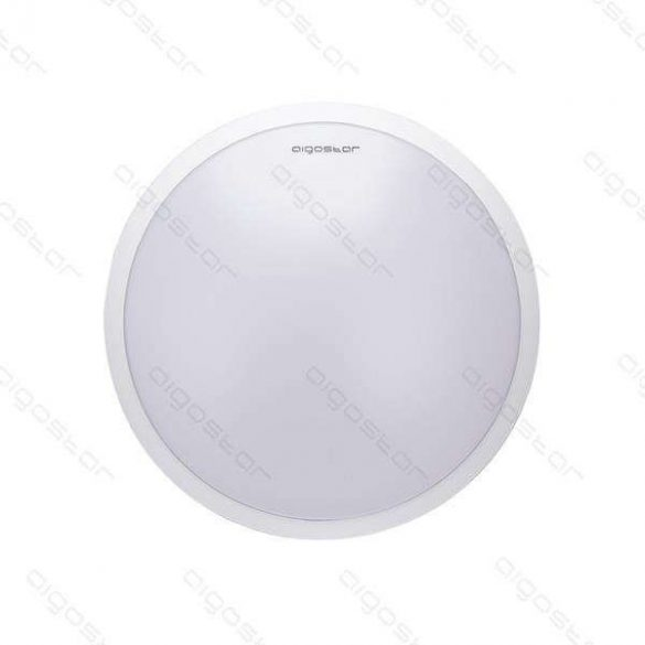 Aigostar LEDES lámpa kerek 18W Természetes fehér Fehér kerettel