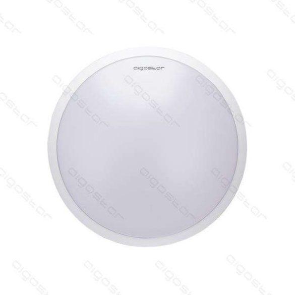 Aigostar LEDES lámpa kerek 18W Hideg fehér Fehér kerettel