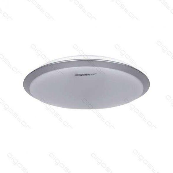 Aigostar LEDES lámpa kerek 18W Hideg fehér Ezüst kerettel