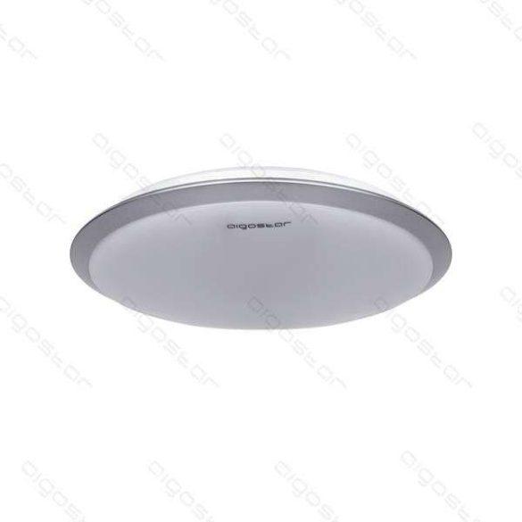 Aigostar LEDES lámpa kerek 24W Természetes fehér Ezüst kerettel