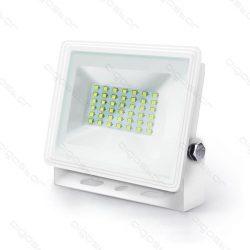 Aigostar LED SLIM Fehér Reflektor 30W 6400K IP65