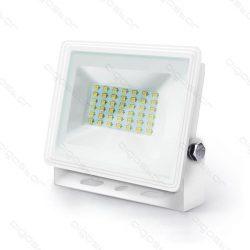 Aigostar LED SLIM Fehér Reflektor 30W 4000K IP65