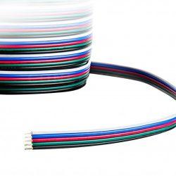 RGBW vezeték 5x0,75 mm2