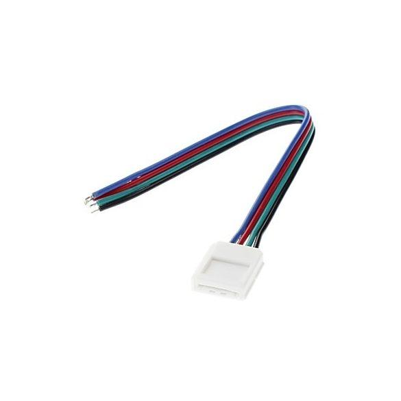 RGB led szalag pattintós gyors betáp csatlakozó