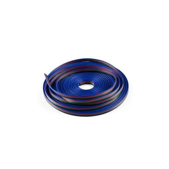 RGB led szalag betáp vezeték 4x0,32mm2