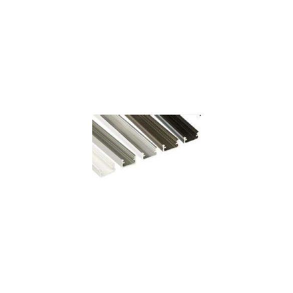 LED Alumínium Profil Standard [A] Fekete 2 méter