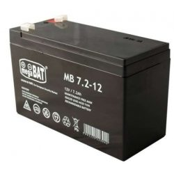 MegaBAT AGM Riasztó akkumulátor 7,2Ah-12V