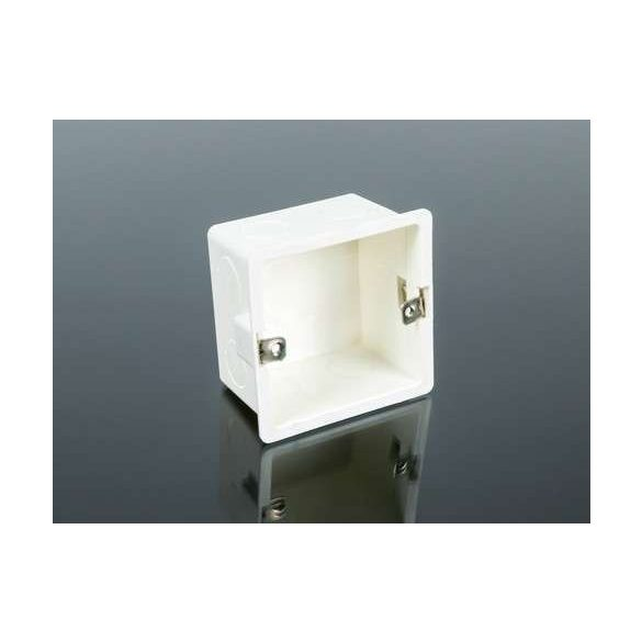 Fali LED vezérlőkhöz beépítő-szerelő doboz