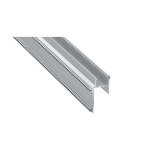 Led Alumínium Profil APA16 2 méter Ezüst