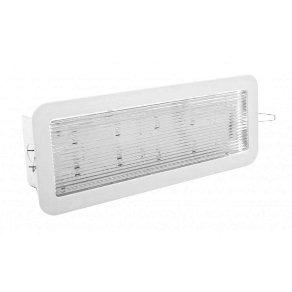 Mennyezetbe süllyeszthető Biztonsági lámpatest 6Watt CL-816/slave/con/MB