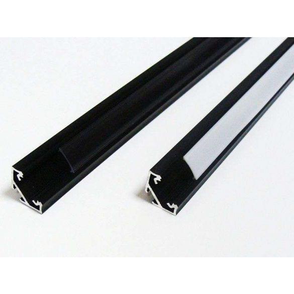 LED Alumínium Profil Sarokba rögzíthető [C] Fehér 2 méter
