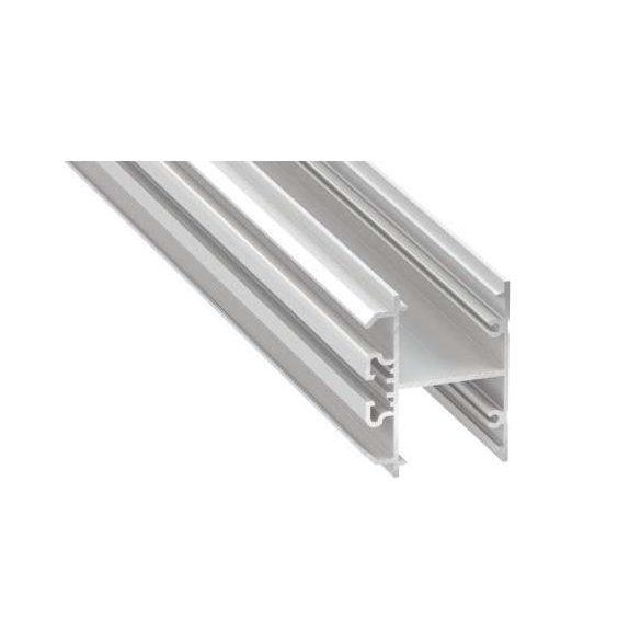 Led Alumínium Profil DOPIO 1 méter Feher