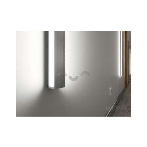 LED Alumínium Profil DOPIO Fehér 1 méter