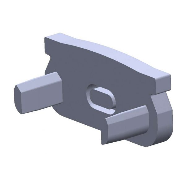 Végzáró ECO U alakú Profilhoz Szürke színű