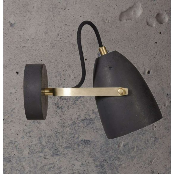 FEBE WALL Fali Beton Lámpa Szürke