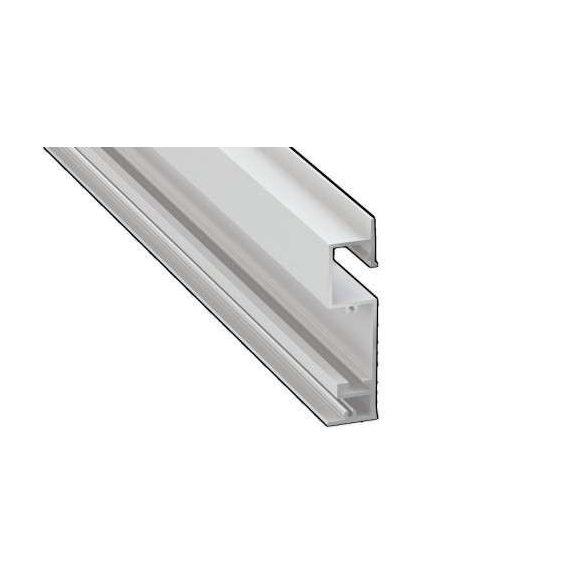 Led Alumínium Profil FLARO 1 méter Fehér