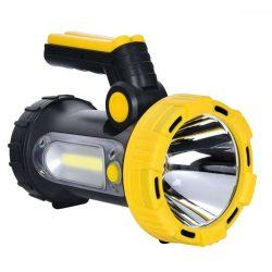 NEDES LED tölthető kézi lámpa és power bank 5W+3W fehér és piros fény