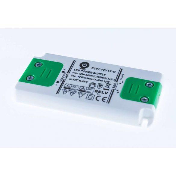 POS Led tápegység FTPC-12-12 Compact 12W 12V 1A
