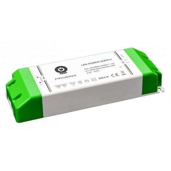 POS Led Tápegység FTPC150V24-E elsődleges DC oldali védelemmel 150W DC 24V 6,25A
