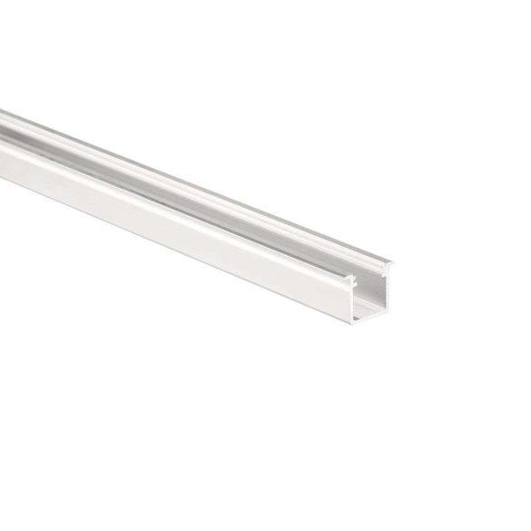 Led profil led szalagokhoz Beépíthető Mély fehér 1 méteres alumínium