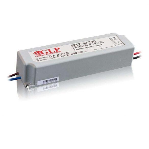 GLP Led tápegység GPCP-60-700 56W 40-80V 700mA