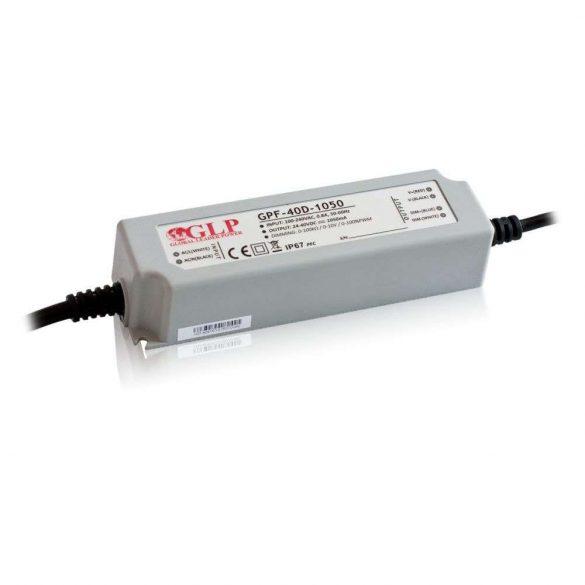 GLP Led tápegység GPF-D40-C700 dimmelhető 42W 36-60V 700mA