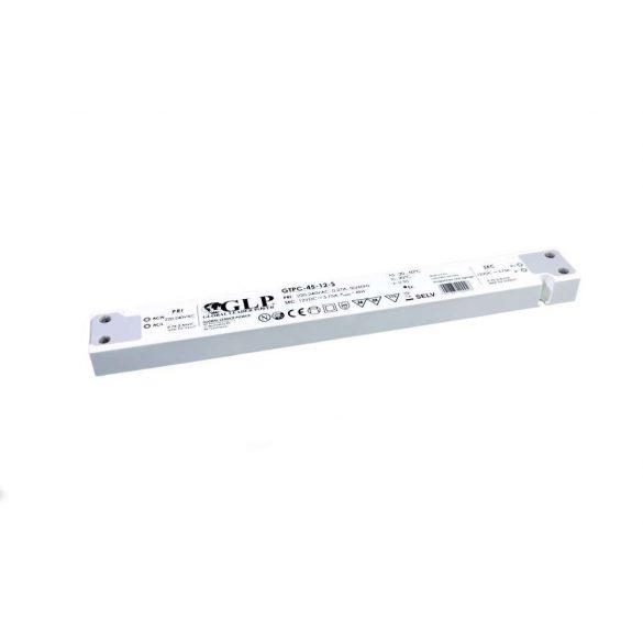 GPV Led tápegység GTPC-45-12-S 45W 12V 3,75A slim